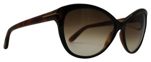 Tom Ford Round Cat Eye Telma Black Sunglasses TF 325 03F