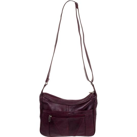 Roma Leathers Cross Body Bag Image 1