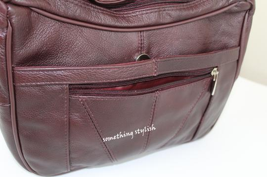Roma Leathers Cross Body Bag Image 2
