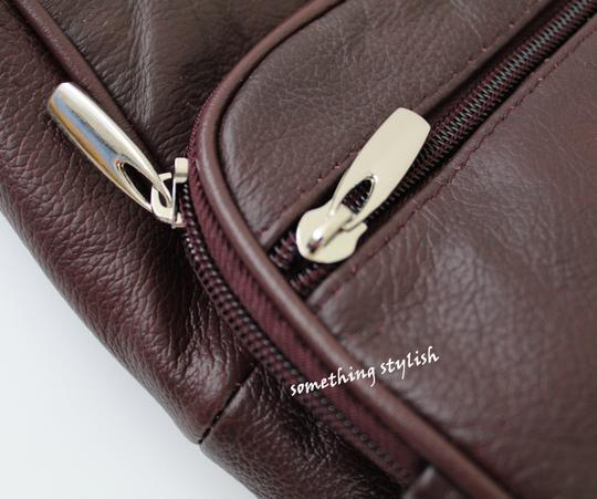 Roma Leathers Cross Body Bag Image 3
