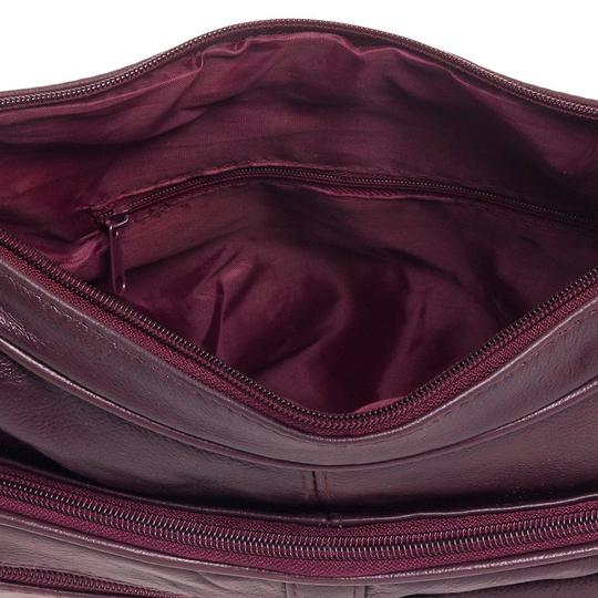 Roma Leathers Cross Body Bag Image 5