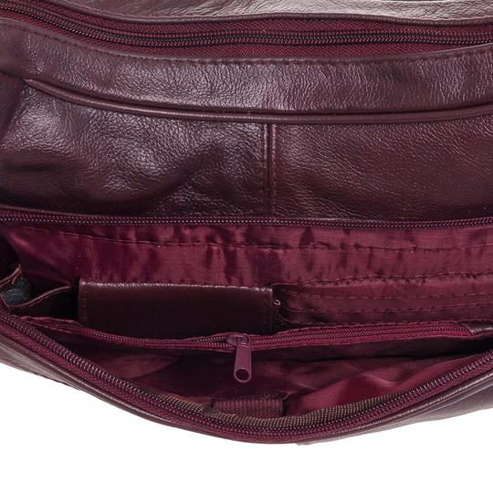 Roma Leathers Cross Body Bag Image 6