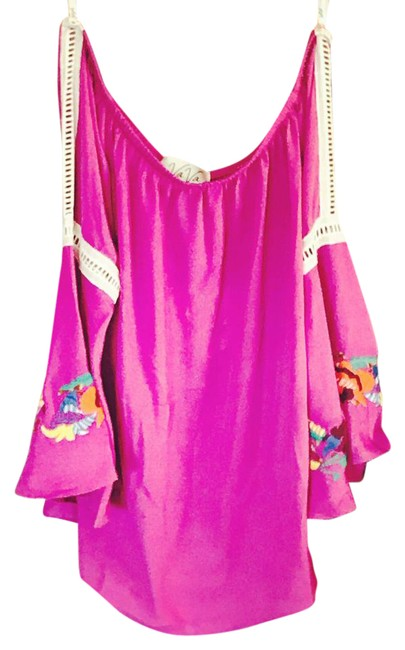 Item - Magenta Pink Blouse Size 4 (S)