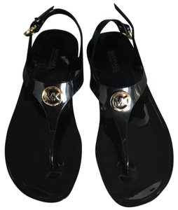 Michael Kors Mk Jelly Black Sandals
