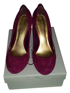 Jessica Simpson Cranberry Pumps