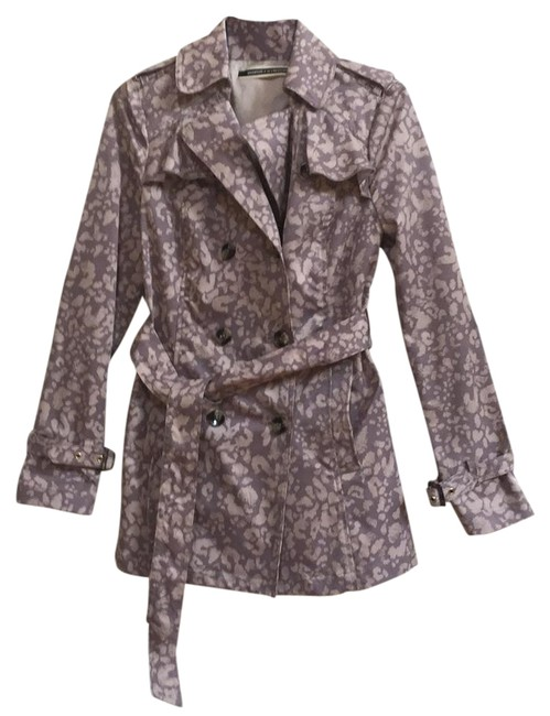 Item - Taupe and Beige New Faded Leopard Coat Size 4 (S)