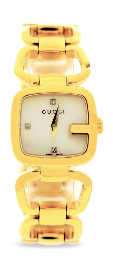 a06b5393478 Gucci Gold Watches - Up to 70% off at Tradesy (Page 3)