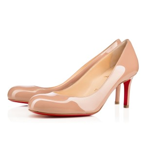 Christian Louboutin New Simple Nude New Simple Beige New Simple Nude Beige Pumps