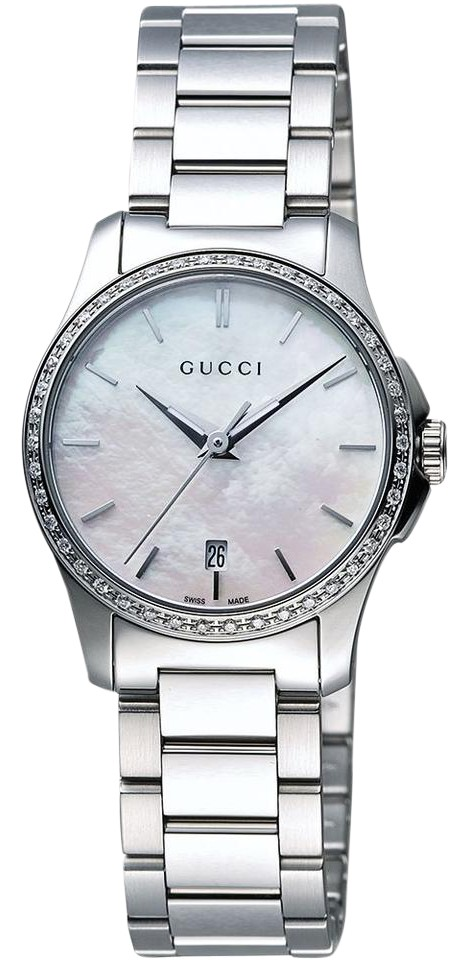 1fe5f3ac44e Gucci G-timeless Mother Of Pearl Diamond Ladies Watch - Tradesy