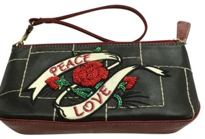 Isabella Fiore Black and red Clutch