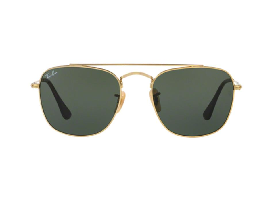 72eceb0d6a Ray-Ban Gold Petite Small Aviator - Rb 3557 001 - Free 3 Day Shipping  Sunglasses