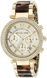 fe97c4459ae3 Michael Kors Parker Watches - Up to 70% off at Tradesy (Page 4)