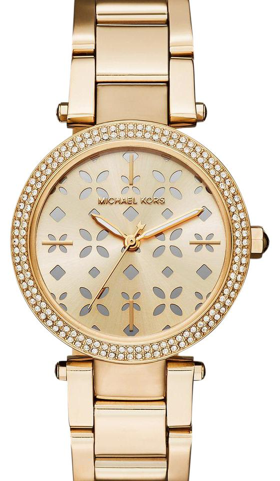 39af0c3f7ae7 Michael Kors Mini Parker Floral Cutout Dial Ladies Watch - Tradesy