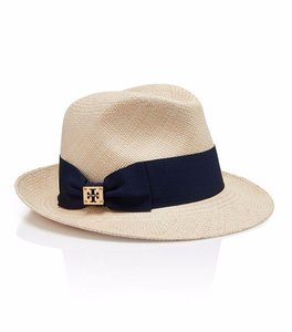 Tory Burch Tory Burch Hat CLASSIC GROSGRAIN FEDORA. STYLE NUMBER21135014