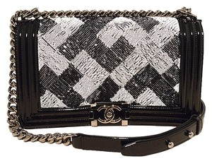 Chanel Patent Leather Classic Shoulder Bag