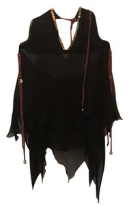 Lotta Stensson Silk Shells black Halter Top