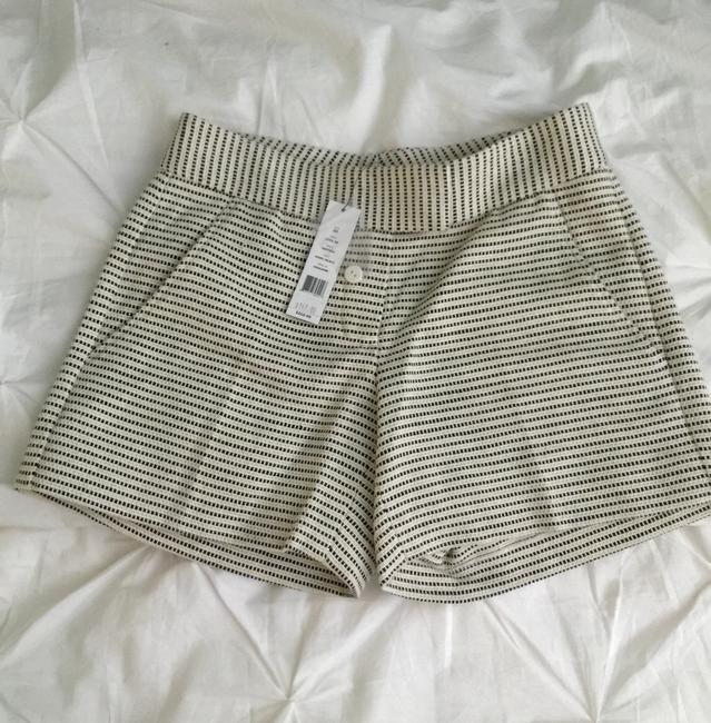 Theory Shorts Black And Off White