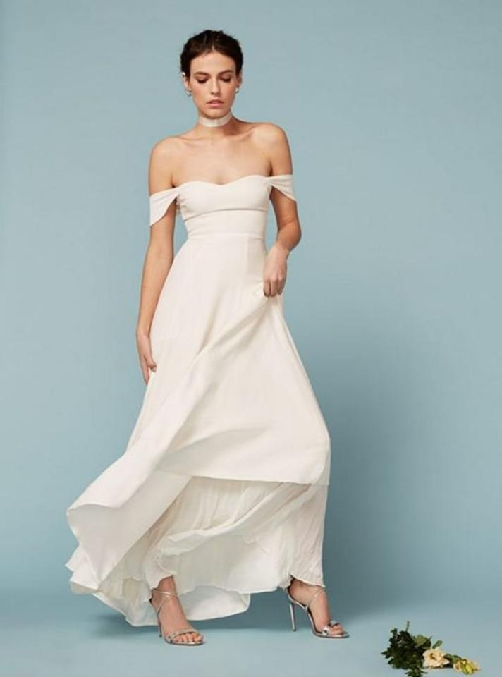 Reformation Constance Dress Wedding Dress On Sale, 32% Off