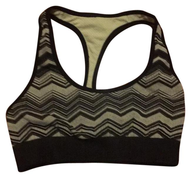 Item - Black and Yellow Reversible Activewear Sports Bra Size 6 (S)