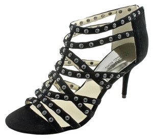 Michael Kors Mk Maddie Black Sandals