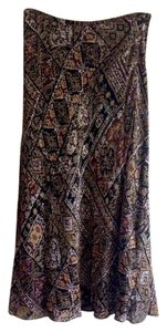 Charter Club Maxi Skirt brown black