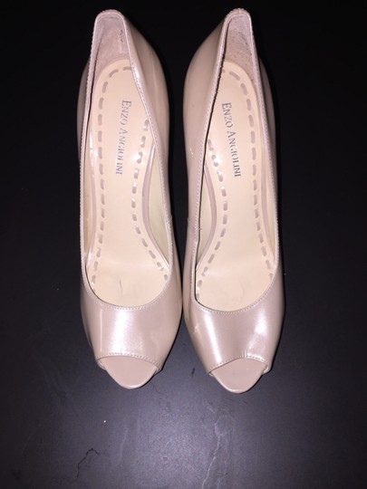 Enzo Angiolini Tanen Heels Heels Patent Leather Heels Patent Leather Patent Leather Blush Light Pink Nude Pumps