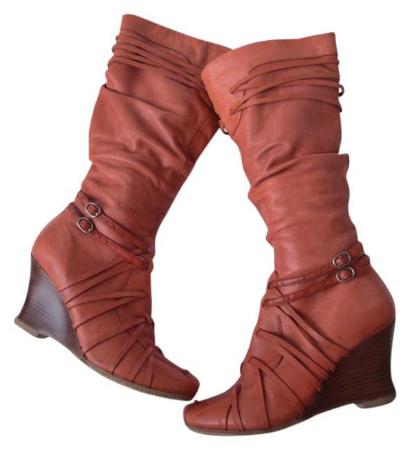 Item - Orange Pipers Boots/Booties Size US 5.5 Regular (M, B)