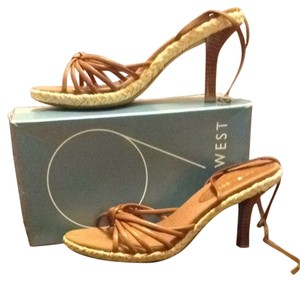Nine West Kona Tan Sandals