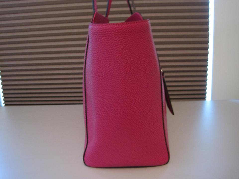 85844788627a0c Gucci Swing Medium Fuschia Pink Leather Tote - Tradesy