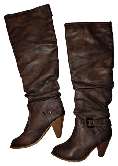 Wet Seal Slouch Gray Boots