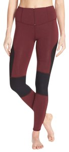 Free People RED COMBO Leggings