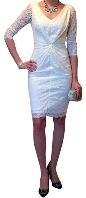 Laundry by Shelli Segal Bridal Rehearsal Dinner Bridal Shower Lace Feminine Dress