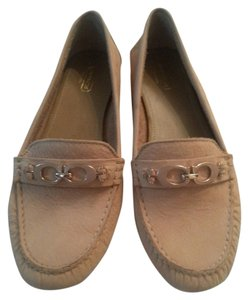 Coach Leather TAN Flats