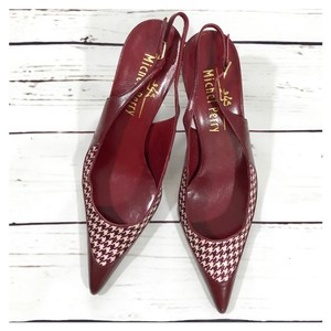 Michel Perry red Pumps