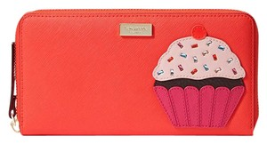 Kate Spade kate spade Take The Cake Cupcake Neda Continental Zip Around Wallet
