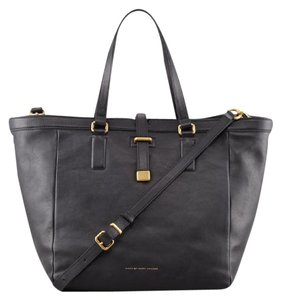 Marc by Marc Jacobs Leather Hardware Tote in Black