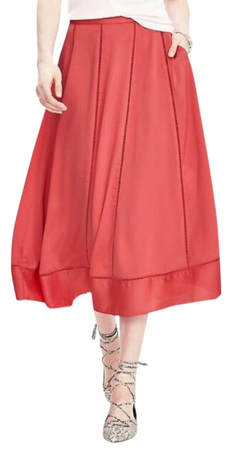Item - Perfect Coral Sweep Skirt Size 4 (S, 27)