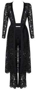 DIOR BELLA Bandage Party Lace Duster Pants Dress