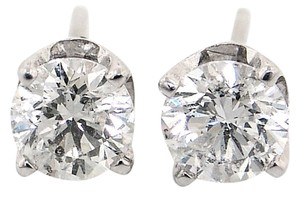 ABC Jewelry 1.42tcw Diamond Stud Earrings