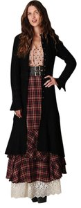 Free People Wool Duster Lace Victorian Coat