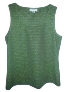 Josephine Studio Shutter Pleats Top green