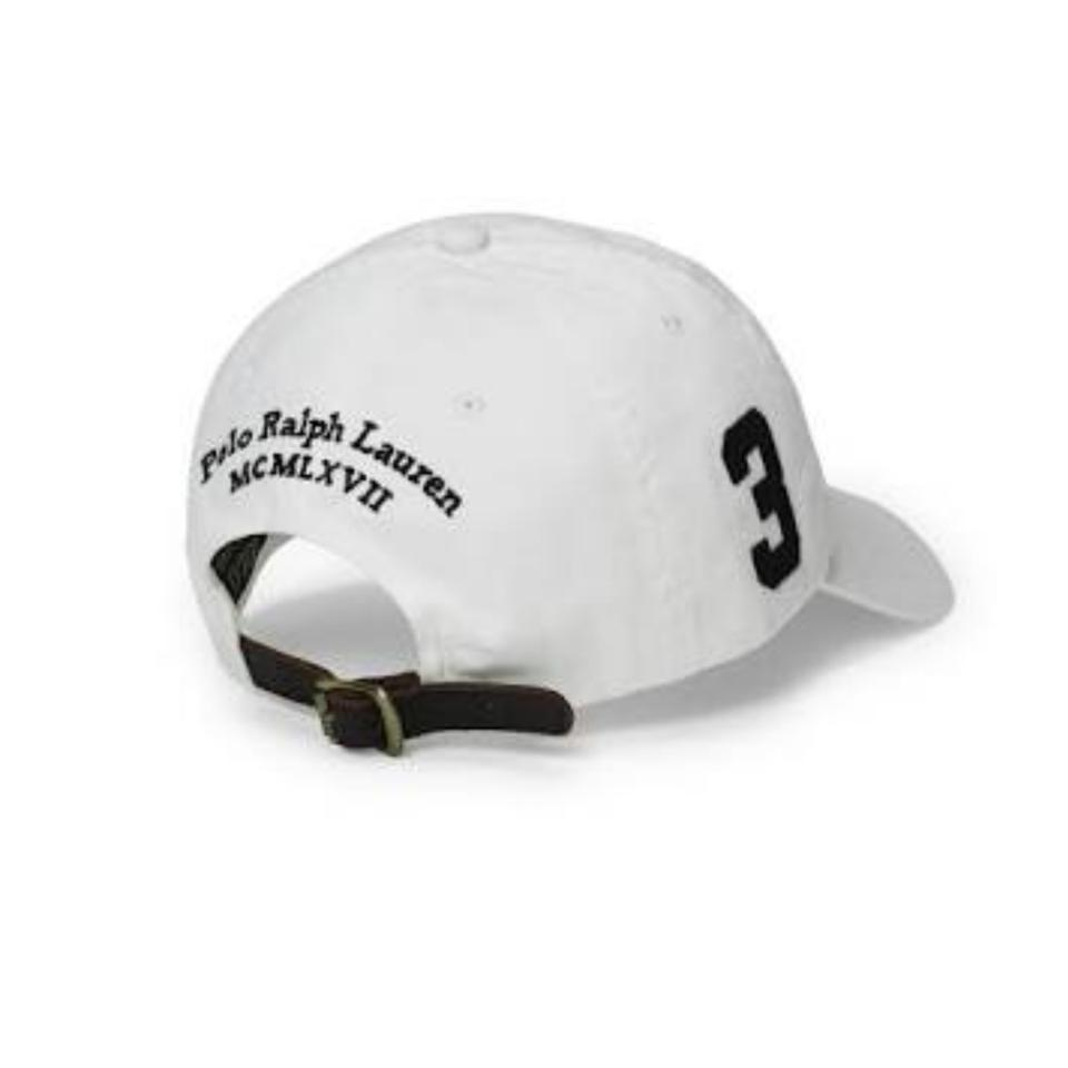 d6e8dcf4bc936 Black Polo Hat With Leather Strap