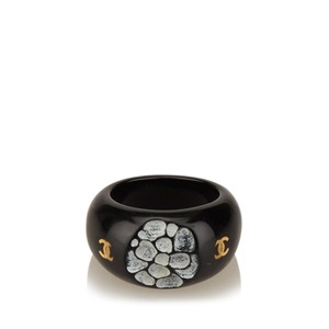 Chanel PVC Camellia Cocktail Ring