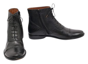Henry Cuir Spectator Soft Leather Black Boots