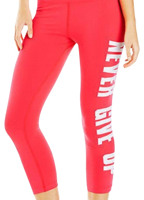 Item - Orange-red Never Give Up 7/8 Tight Activewear Bottoms Size 4 (S, 27)