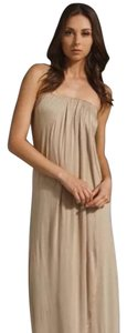 khaki Maxi Dress by Plastic island