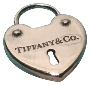 bed929595 Tiffany & Co. Tiffany & Co. Sterling Silver Heart Lock Charm Necklace  Bracelet Rare