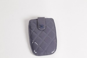 Chanel CHANEL Quilted Patent Leather iPhone 5 Case