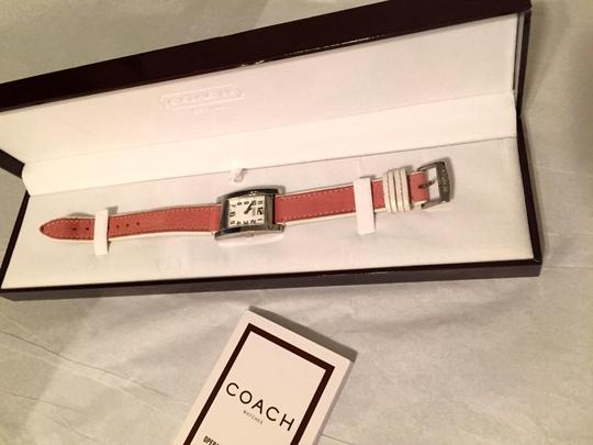 Coach Coach Stainless Watch with leather band