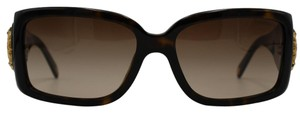 Tiffany & Co. Rectangle Dark Tortoise/Gold Studded Accent Sunglasses 4017B 8015/3B